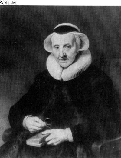 verbranntes Bild von Franchoys, Peeter aus dem frühen 17. Jhd.
